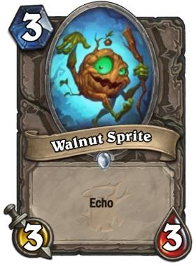Hearthstone The Witchwood Walnut Sprite