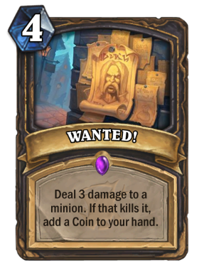 Hearthstone The Witchwood Wanted