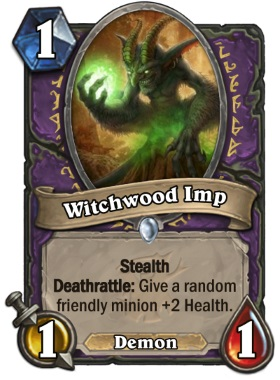 Hearthstone The Witchwood Witchwood Imp