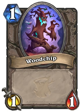 Hearthstone The Witchwood Splitting Woodchip
