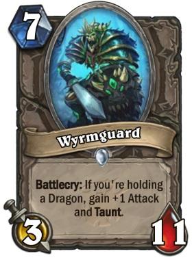 Hearthstone The Witchwood Wyrmguard