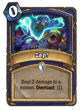 Hearthstone The Witchwood Zap!