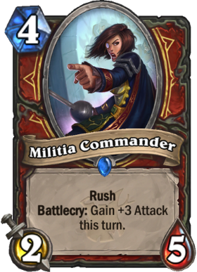 Hearthstone The Witchwood Militia Commander