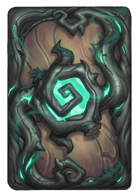 Hearthstone The Witchwood card back