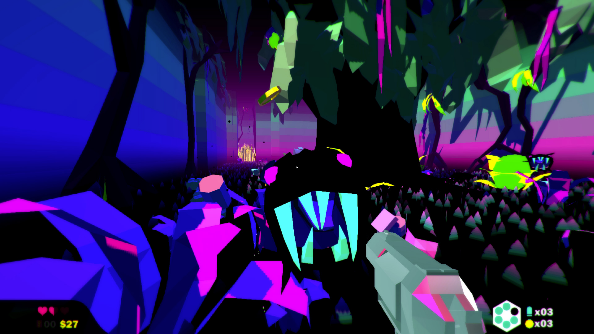 Heavy Bullets shoots for Steam Early Access, is trippier than psychotropics