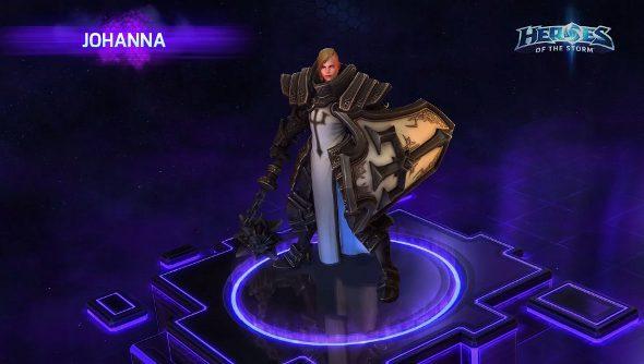 Heroes of the Storm Johanna
