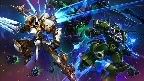 Heroes of the storm is getting new mecha skins and an - Heroes of the storm space lord leoric ...