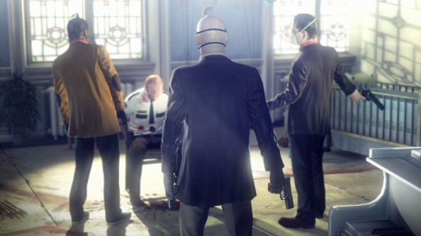 Hitman: Absolution on 'Purist' difficulty leaves you with just a crosshair. Good luck with that