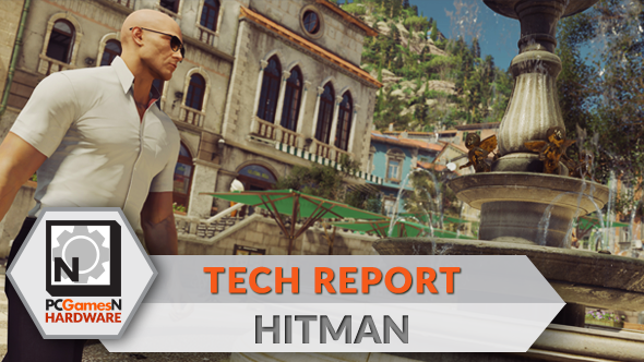 Hitman PC graphics, performance and 4K analysis - the PCGamesN Tech Report