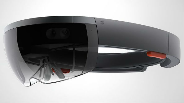 This is not a VR headset, this is a Hololens