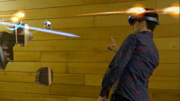 HoloLens Robo Raid