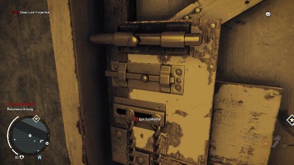 Homefront: The Revolution locks medium
