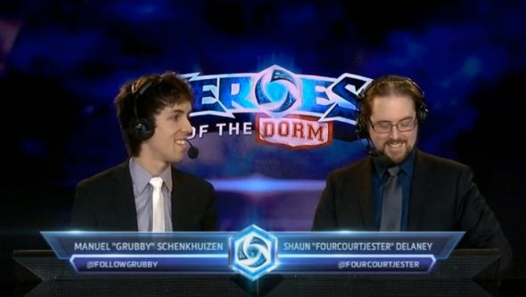 The casters of Heroes of the Dorm