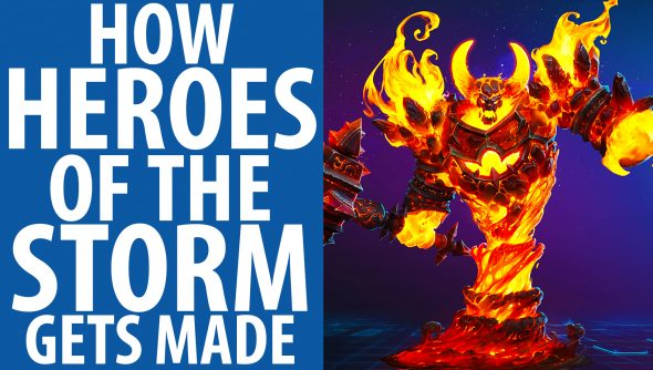 How Heroes of the Storm gets made