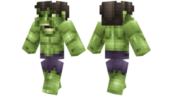 best minecraft skins Hulk