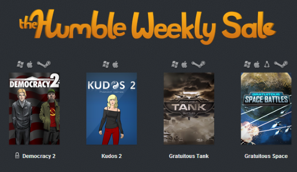 New Humble Weekly Sale is the Positech Games back catalogue