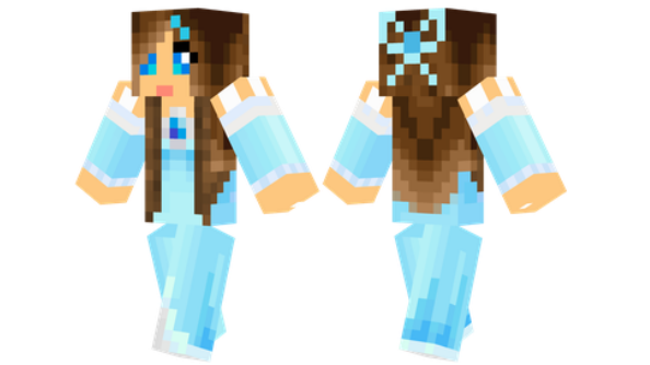 best minecraft skins Ice Princess