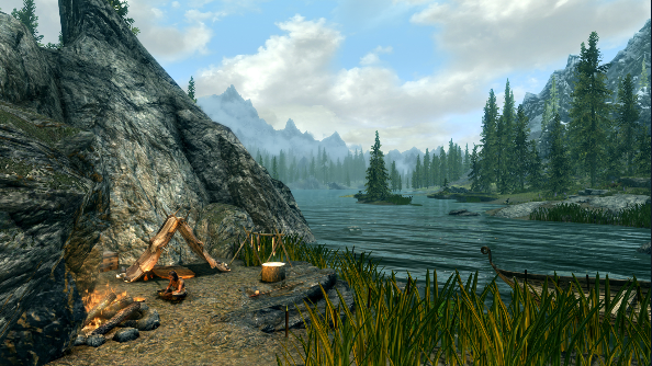 Best Skyrim mods - Immersive Saturation Boost