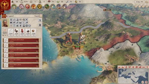 Imperator: Rome Legions
