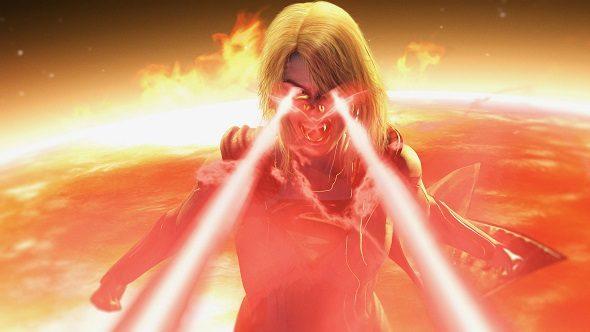 Injustice 2 Supergirl legendary edition