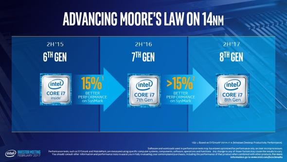 Intel 8th Gen Core processors