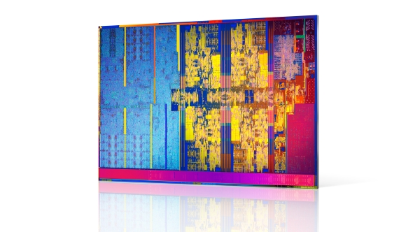 Intel 8th Gen die
