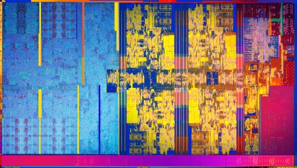 Intel 8th generation die