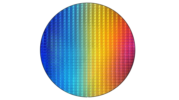 Intel 8th Gen Core wafer