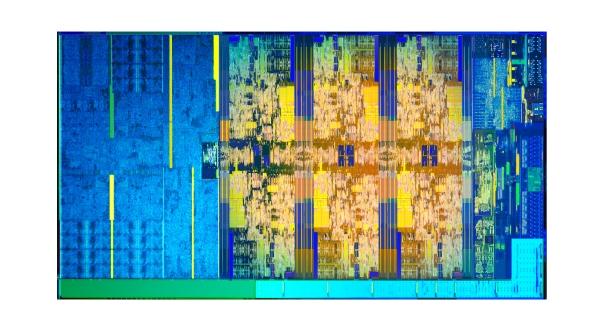 Intel Coffee Lake die