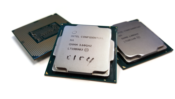 Intel Core i5 8600K Coffee Lake set
