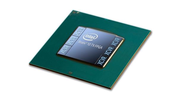 Intel Stratix 10 FPGA inside