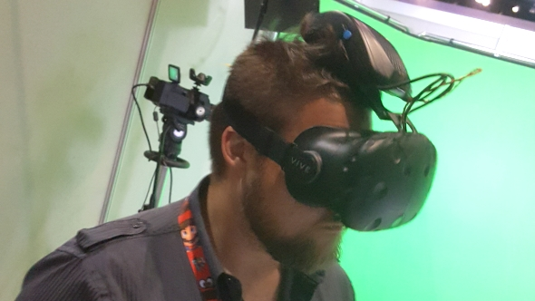 Intel's wireless VR prototype