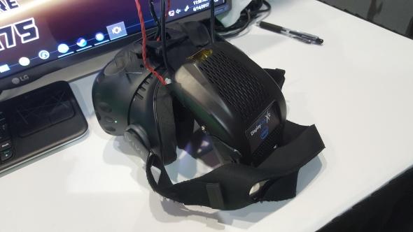 Intel Wireless VR prototype headset