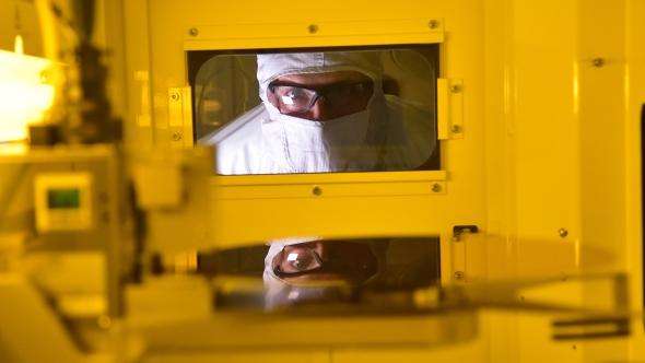Intel wafer production node