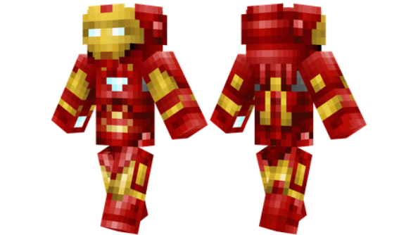 best minecraft skins Iron Man