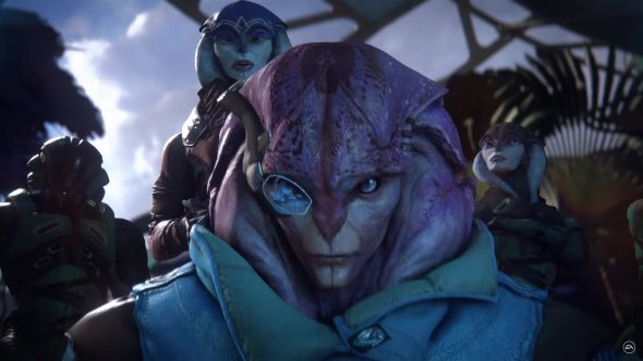 Mass Effect: Andromeda introduces the Angara - a new race that punch their family in the face