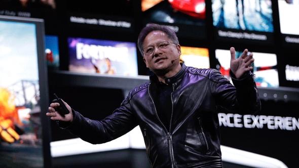 Nvidia CEO Jen-Hsun Huang GeForce