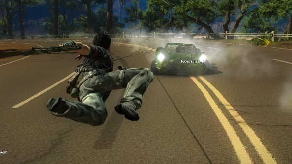 Grappling with friends: hands-on with the amazing Just Cause 2 Multiplayer mod