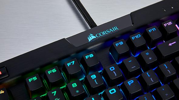 Corsair K70 RGB MK.2 gaming keyboard logo
