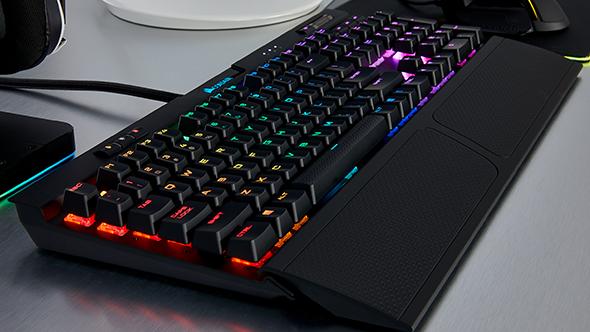 Corsair K70 RGB MK.2 gaming keyboard wrist rest