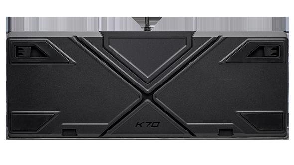 Corsair K70 RGB MK.2 gaming keyboard cable routing