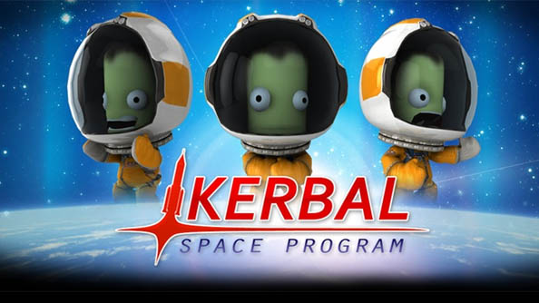 Best space game Kerbal Space Program