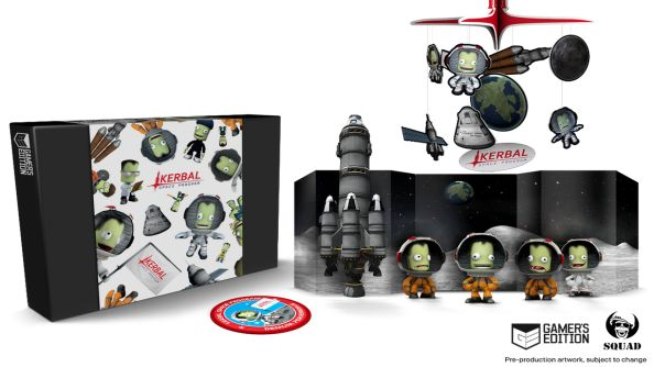 Kerbal Space Program's Gamer's Edition box is a collector's wet dream