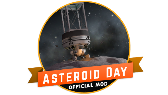 Kerbal Space Asteroid Day mod