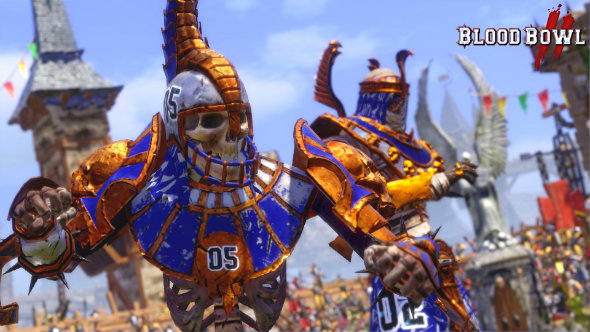 Blood Bowl 2 introduces Chaos Dwarfs and Khemri teams to its bloody roster