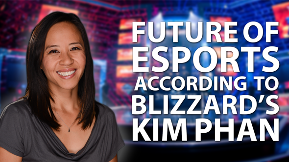 Running five major eSport franchises - the challenges, surprises and failures with Blizzard's Kim Phan