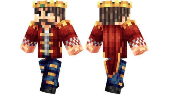 best minecraft skins King