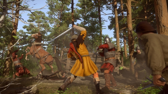 Kingdom Come: Deliverance builds