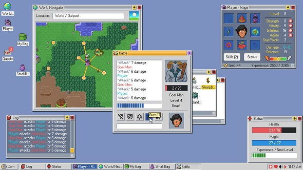 RPG management sim Kingsway is the offspring of Windows 98 and a D&D dungeon manual