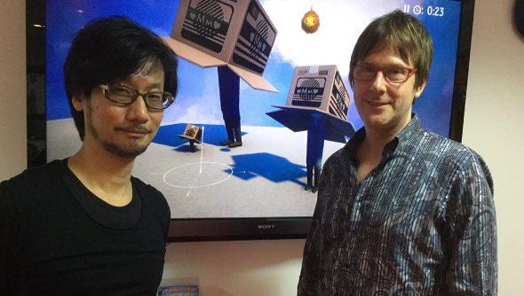 Kojima and Cerny bromance